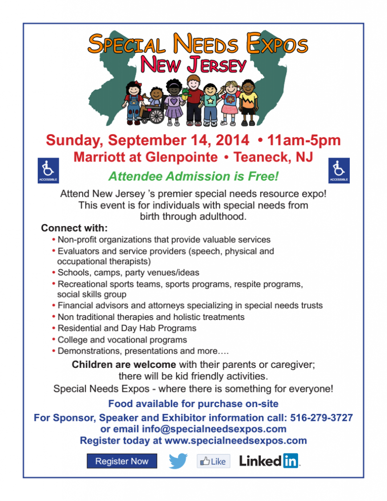 special needs expo 2014